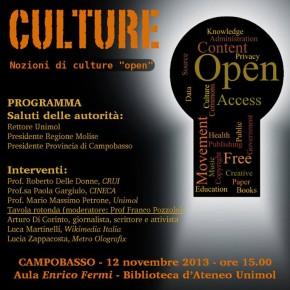 Open Culture - Campobasso