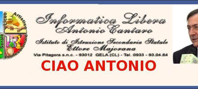 In memoria del Prof. Antonio Cantaro